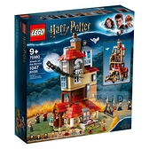 75980【LEGO 樂高積木】Harry Potter 系列 - 洞穴屋 Attack on the Burrow