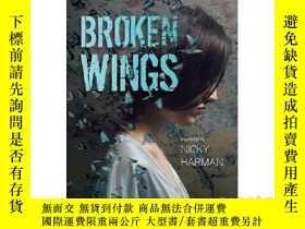二手書博民逛書店賈平凹:極花罕見英文原版 Broken Wings 中國文學 J
