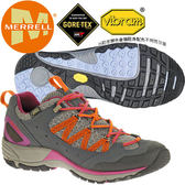 Merrell 21450 女GTX多功能健行鞋/黃金大底Avian Light Gore-Tex防水登山鞋/郊山鞋/健走鞋/透氣越野運動鞋