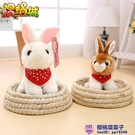 可愛小白兔公仔玩偶禮物仿真兔子毛絨玩具【櫻桃菜菜子】