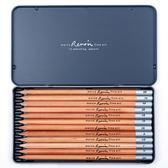 2B比手繪圖畫銀桿碳筆專業素描鉛筆3000