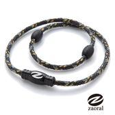 Zaoral 甦活磁石項圈-黑/黑BK/BK (M號)