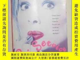 二手書博民逛書店【罕見】 英文原版小說 《 Lip Service 》 Jane