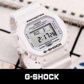 【人文行旅】G-SHOCK   DW-5600MW-7DR 夏季白色經典時尚運動腕錶