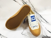 KangaROOS 女款白色餅乾休閒帆布鞋-NO.KW91279