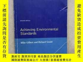 二手書博民逛書店Achieving罕見Environmental Standards(英文原版)Y171402 Mike Gi