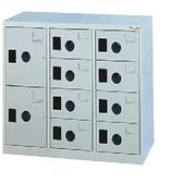 【時尚屋】DJ多用途塑鋼製辦公置物櫃(25-4)藍色