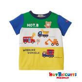 HOT BISCUITS 餅乾熊交通工具短袖T恤