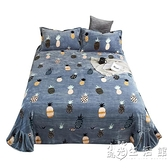 保暖床單珊瑚絨單件冬季加厚牛奶法蘭絨1.81.2 1.5米毛絨雙人被單 小時光生活館