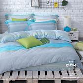 OLIVIA【 晴語】 加大雙人床包冬夏兩用被套四件組  60支奧地利蘭精萊賽爾天絲TENCEL   台灣製