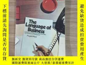 二手書博民逛書店The罕見Language of BusinessY260873