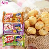 韓國 HAITAI 海太 小泡芙 46g 泡芙 夾心泡芙 起司 牛奶 巧克力 餅乾