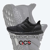 adidas 慢跑鞋 Ultra Boost 4.0 黑 全黑 男鞋 黑魂 運動鞋 緩震 【ACS】 F36641