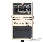 BOSS AW-3 動態哇哇效果器 【Dynamic Wah/電吉他單顆效果器/AW3】