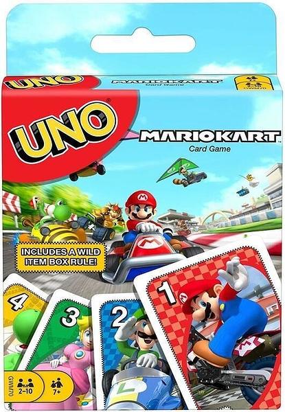『高雄龐奇桌遊』 UNO 瑪利歐賽車 UNO Mario Kart 正版桌上遊戲專賣店