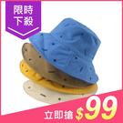 韓版百搭星星休閒漁夫帽/遮陽帽(1入) 顏色可選【小三美日】原價$139