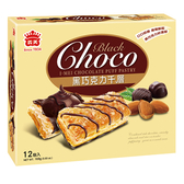 義美巧克力千層派-黑巧克力168g【愛買】