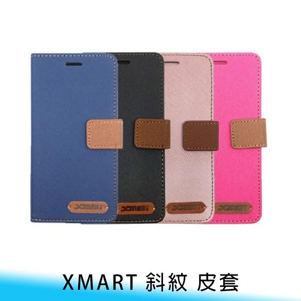 【妃航】Xmart 三星 Note 10 Lite 斜紋 撞色 磁扣/插卡/翻蓋 防摔/防撞 皮套/保護套