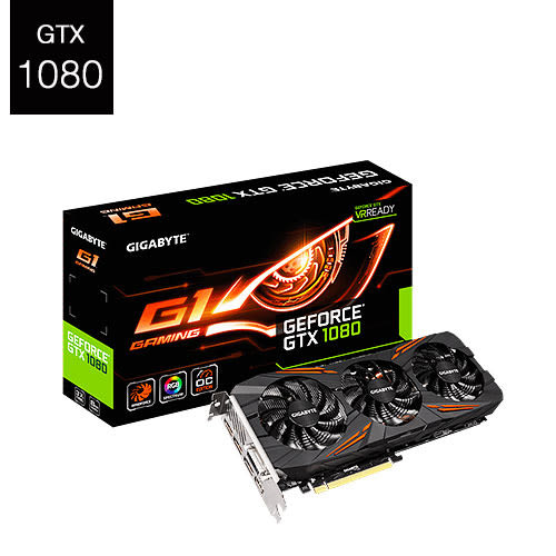 GIGABYTE 技嘉 GeForce GTX 1080 G1 Gaming 8G GV-N1080G1 GAMING-8GD 顯示卡