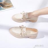 樂福鞋 小香風小皮鞋女學生仙女鞋子韓版潮流單鞋新款春夏百搭樂福鞋 原本良品