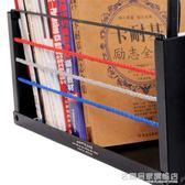 創意書立高中生摺疊學生書箱簡易書夾簡約書靠書架課本書擋收納箱 名購居家