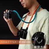 cam-in棉織復古文藝相機背帶微單富士相機繩掛脖徠卡肩帶 圓孔型『摩登大道』