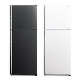 日立 HITACHI 403公升雙門琉璃面板變頻冰箱 RG409