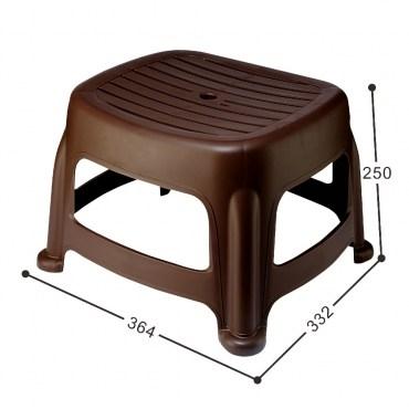 花園25CM止滑椅(咖啡)