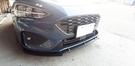 三點式 專用型 福特 FORD FOCUS MK4 消光黑 三件式 下巴 下擾流板 保險桿 改裝下巴 改裝擾流