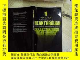 二手書博民逛書店BREAKTHROUGH罕見1Y203004