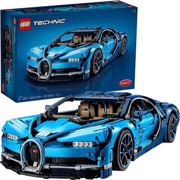 LEGO 樂高 Technic Bugatti Chiron 42083賽車 和工程玩具(3599件)