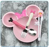 可愛卡通米奇碗兒童寶寶吃飯碗筷