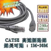 PRO等級 純銅芯 CAT5E 高速網路線 10M