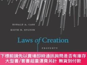 二手書博民逛書店Laws罕見Of CreationY255174 Ronald A. Cass Harvard Up 出版2