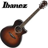 嚴選Ibanez AE205-BS 雲杉木木單板吉他-附贈千元好禮/原廠公司貨