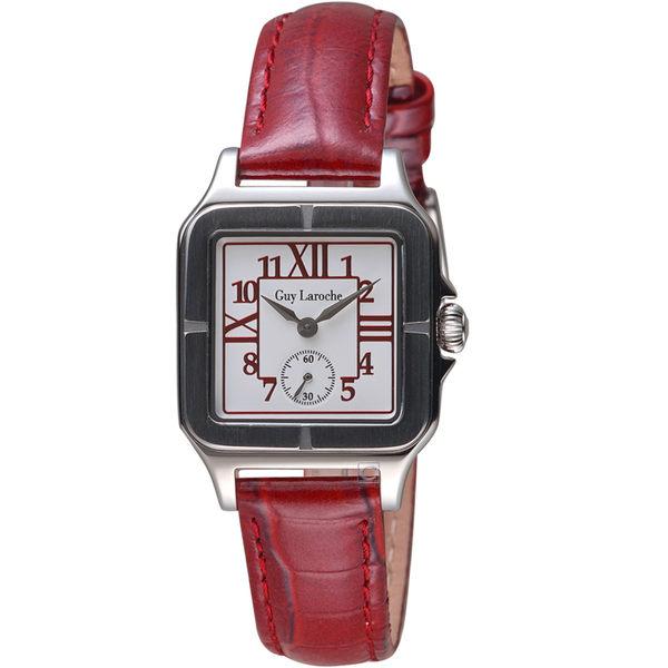姬龍雪Guy Laroche Timepieces經典躍動時尚女錶 LW2027-08