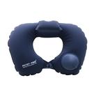 按壓式充氣枕SG703 U型枕頭旅行飛機枕按壓充氣枕頭戶外u型枕旅遊枕頭便收納旅行護頸枕