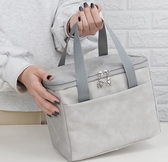 便當袋 飯盒袋保溫便當午餐手提包簡約鋁箔加厚上班帶飯防水冷藏保溫袋盒 艾維朵