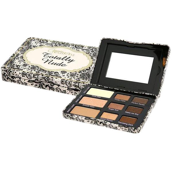 美國 Beauty Creations Totally Nude 9色裸色暖棕眼影盤(11.4g)【小三美日】$399