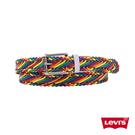 Levis Pride限量平權系列 男款皮帶 / 彩虹編織