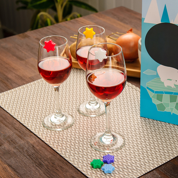【週年慶倒數全館8折起】Gift concept北極熊禮盒提袋(酒杯標誌)-生活工場