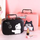 [618好康又一發]化妝包便攜韓國簡約手提隨身品箱大容量