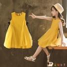 3兒童裝4女童洋裝5夏裝2020新款夏季6公主裙子小孩7洋氣8歲女孩 HX5577【花貓女王】