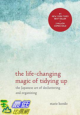 [104美國直購]  2015 美國暢銷書排行榜 The Life-Changing Magic of Tidying Up