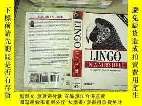二手書博民逛書店LINGO罕見IN A NUTSHELLY203004