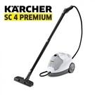 限量贈掃地機 K65 德國 KARCHER 凱馳 SC4 PREMIUM 多功能高壓蒸氣清洗機 /白色