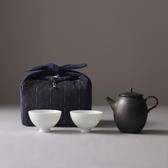 加厚麻棉收納旅行包布袋茶具