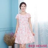 【RED HOUSE 蕾赫斯】花朵點點印花洋裝(共2色)