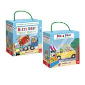 Bizzy Bear Book And Blocks Set 熊熊遊戲拼圖組合
