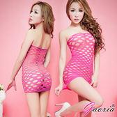 情趣用品【Gaoria】螢光PARTY 超性感造型網衣 WA-001
